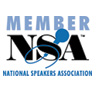 Member: National Speakers Association